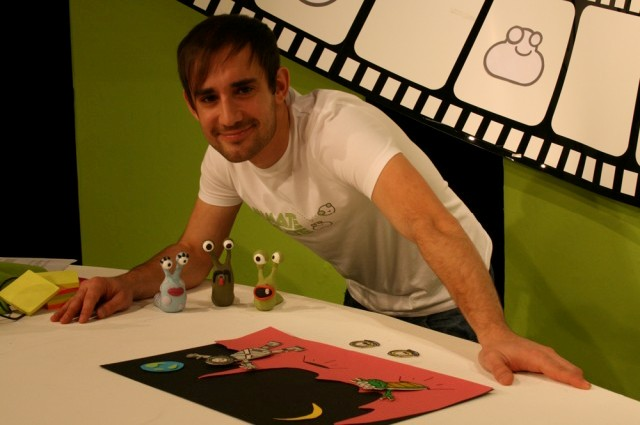 Dan with some of his Creations