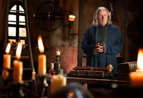 Richard Wilson as Gauis in Merlin © BBC