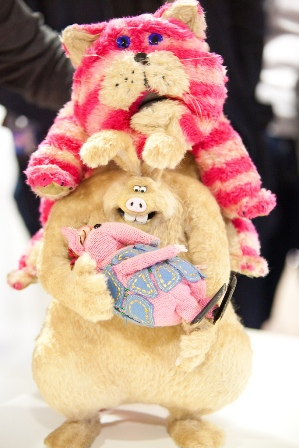 The Were-Rabbit with Bagpuss and The Clanger © RJWaltersPhotography