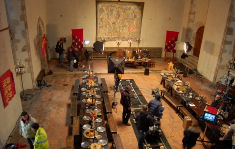 Filming of Merlin at Penshurst Place © Kent Film Office