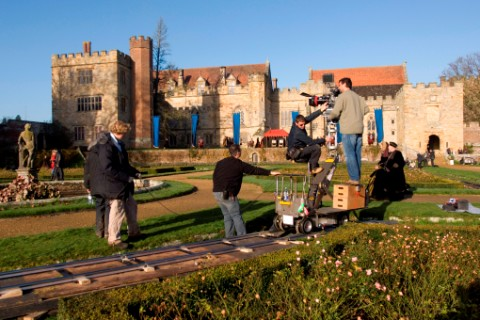 Filming The Other Boleyn Girl at Penshurst Place