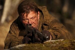 Age of Heroes Sean Bean as Jones with a gun