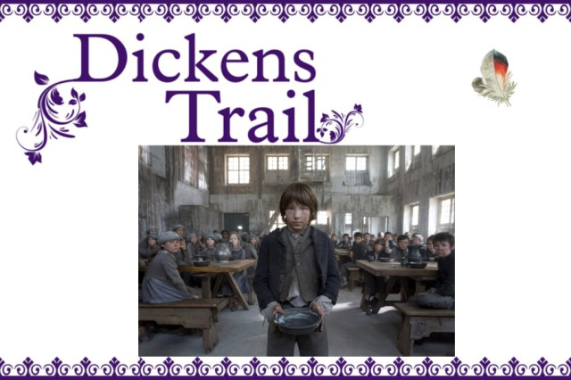 Dickens Trail with picture of BBC's Oliver
