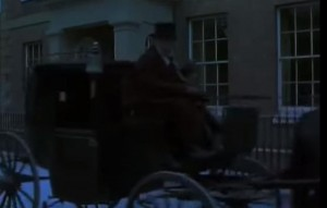 The Mill on the Floss screenshot at The Historic Dockyard Chatham - a man on a horse and carriage