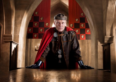 Anthony Head as Uther Pendragon in Merlin © BBC