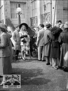 Diana Dors and Dennis Hamilton arriving at the Metropole Hotel Folkestone for the filming of Lady Godiva Rides Again July 1951 Pauline Stroud arriving at the Metropole Hotel Folkestone for the filming of Lady Godiva Rides Again July 1951