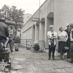 Behind the scenes, Moon and Son at Civic Centre, Folkestone