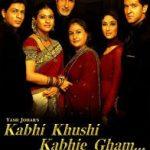 Kabhi Khushi Kabhie Gham... film poster - the family