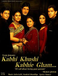 Kabhi Khushi Kabhie Gham... film poster - the family
