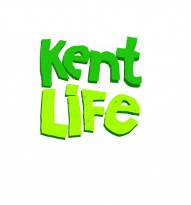 Kent Life Logo- Kent Life written in green on a white background. Links to their website.