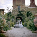 Bleak House filming at Cobham Hall - Gillian Anderson as Lady Dedlock and Anna Maxwell Martin as Esther