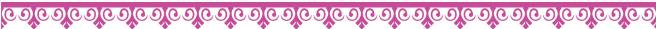 Decorative pink ribbon