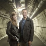 The Tunnel Clemence Poesy (Elise Wassermann) and Stephen Dillane (Karl Roebuck)