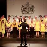 Gareth Malone conducting the P&O choir © BBC, Twenty Twenty, Pete Dadds