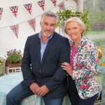 Paul Hollywood and Mary Berry in the Great British Bake Off tent