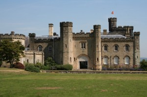 Chiddingstone Castle and grounds