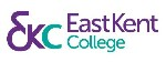 East Kent College Logo- East Kent written in purple on a white background with College written in blue underneath. Initials EKC to the left.Links to Their website.