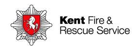 Kent Fire and Rescue Service logo- Kent Fire and Rescue Service written in black to the right, with a white and red badge with a white horse on to the leftLinks to Their website.
