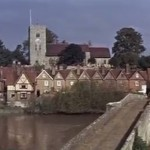 A shot of Aylesford Bridge from the film.