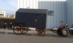George Clarke's Amazing Spaces - Victorian bathing machine in Margate © Thanet District Council