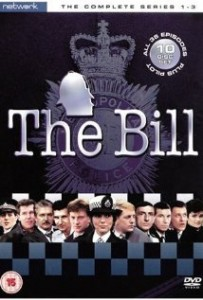 The Bill Poster- headshots of all the cast members in a row with the bill written on top