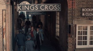 Grantchester Screenshot at The Historic Dockyard doubling as Kings Cross Train Station