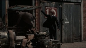 Grantchester Screenshot at The Historic Dockyard - the exterior of a warehouse