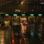 Dartford tolls at night