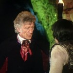 Jon Pertwee as Doctor Who at Chilslehurst Cave
