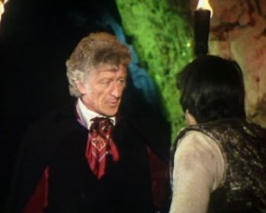 Jon Pertwee as Doctor Who at Chislehurst Caves