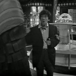 Patrick Troughton at Doctor Who standing in a lab