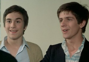 Screenshot of Alain (Remi Laurent) and Jean-Pierre (Stephane Hillel)