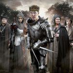 The Hollow Crown: The Wars Of The Roses - Gloucester (HUGH BONNEVILLE), Margaret (SOPHIE OKONEDO), Richard III (BENEDICT CUMBERBATCH), Cecily (JUDI DENCH), Henry VI (TOM STURRIDGE)