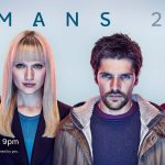 "Humans poster with the ""synths"""