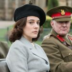 Kathy Griffiths (PHOEBE FOX), Brigadier Wainwright (ROBERT GLENISTER) sitting in a car