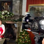 Behind the scenes at Leeds Castle - presenter