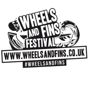 Wheels and Fins Logo