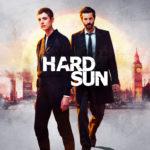 Promotional image showing Renko (AGYNESS DEYN) and Hicks (JIM STURGESS) against a London skyline