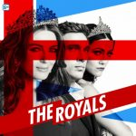 The royals blue, red and white post of the three royals