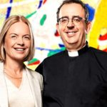 Image of presenters Mariella Frostrup and Rev. Richard Coles