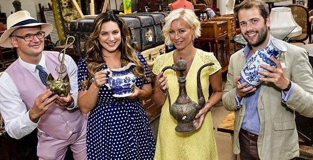 Cast of Celebrity Antiques Road Show - Series 8