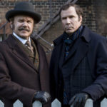 Movie poster of Holmes and Watson (Will Ferrell and John C. Reilly)