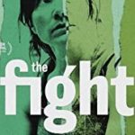 Main actor and director/writer of The Fight movie, Jessica Hynes, pictured on the front cover looking into the distance.